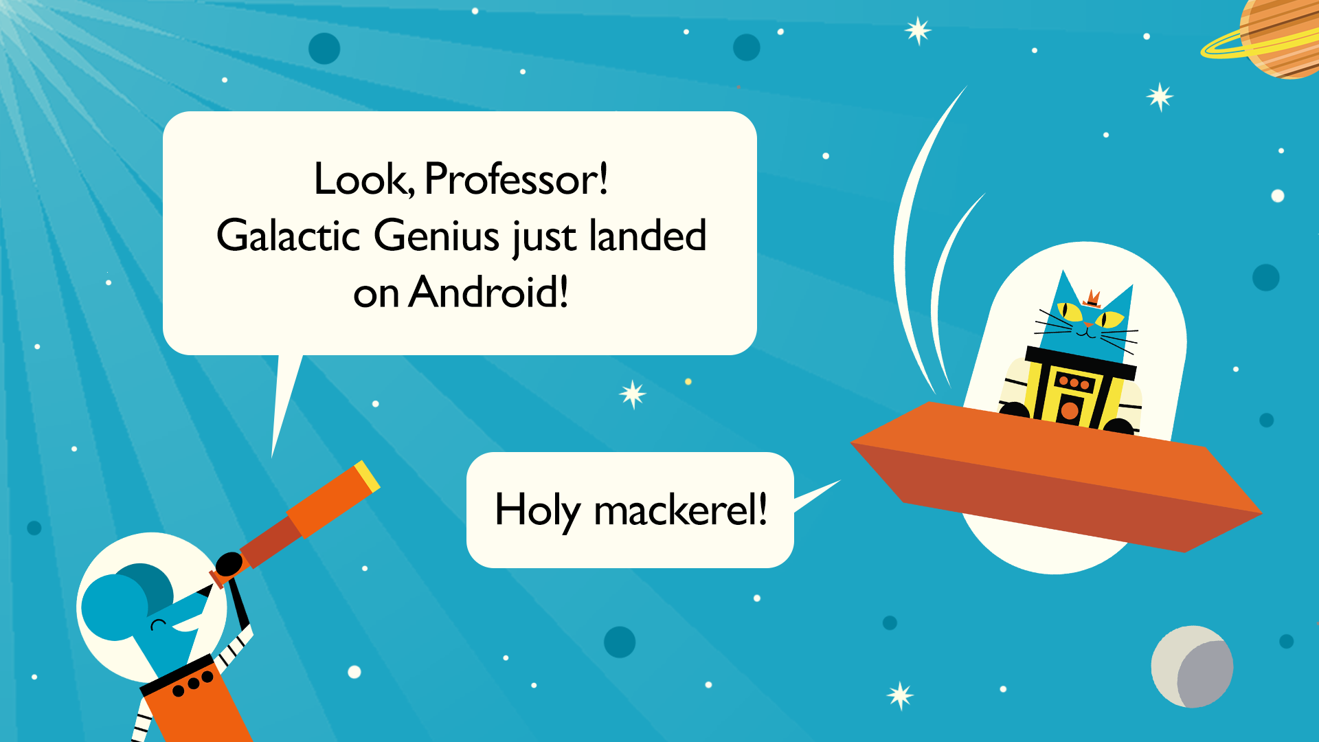 Galactic Genius Android Launch