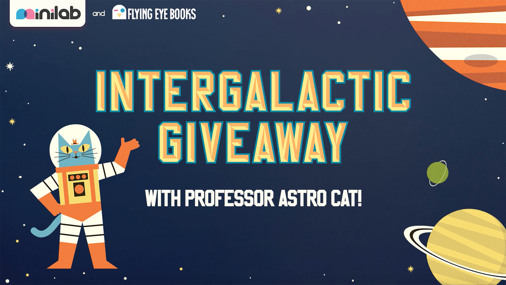 Astro Cat Giveaway