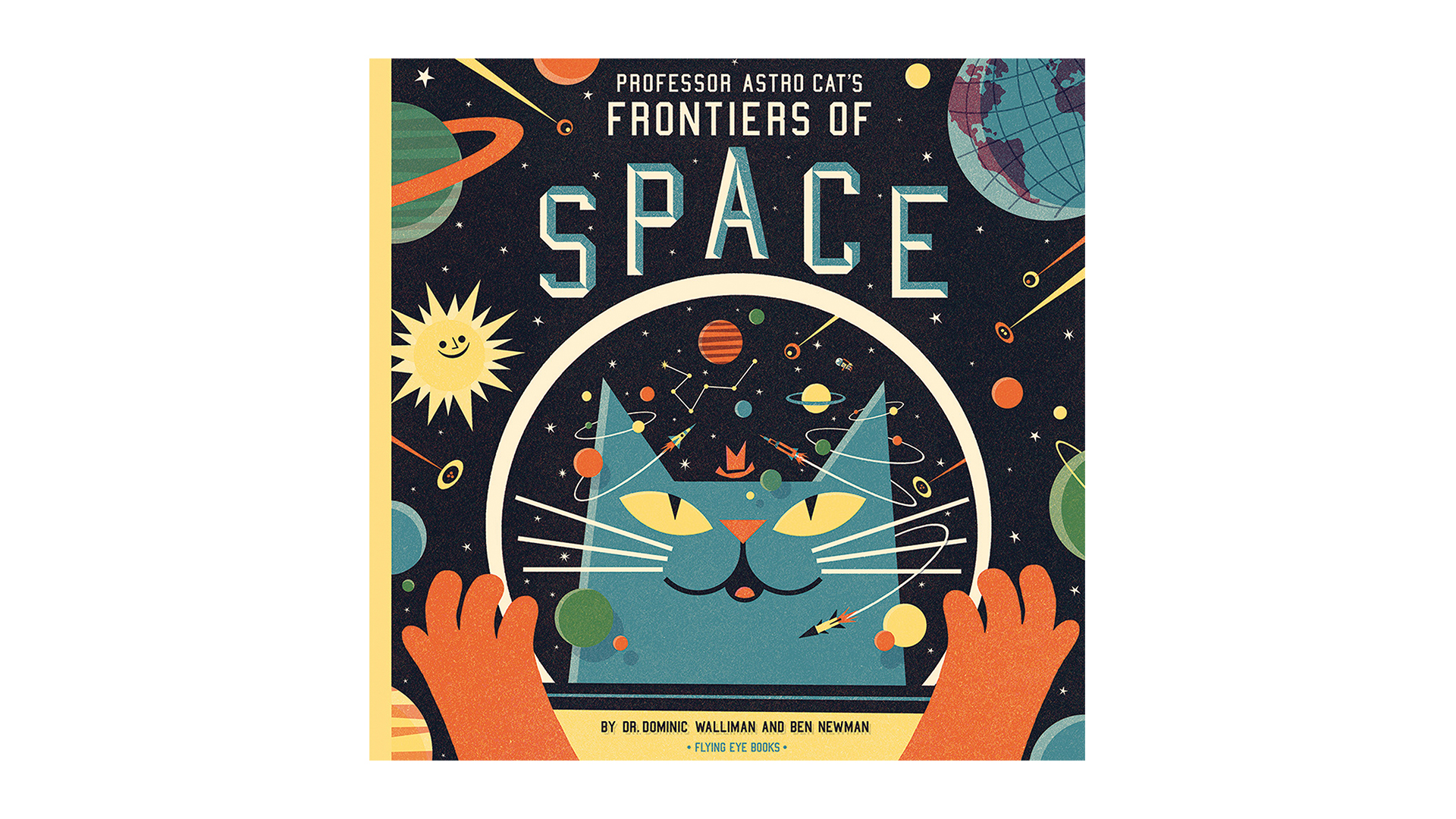 Book cover of Professor Astro Cat's Frontiers of Space
