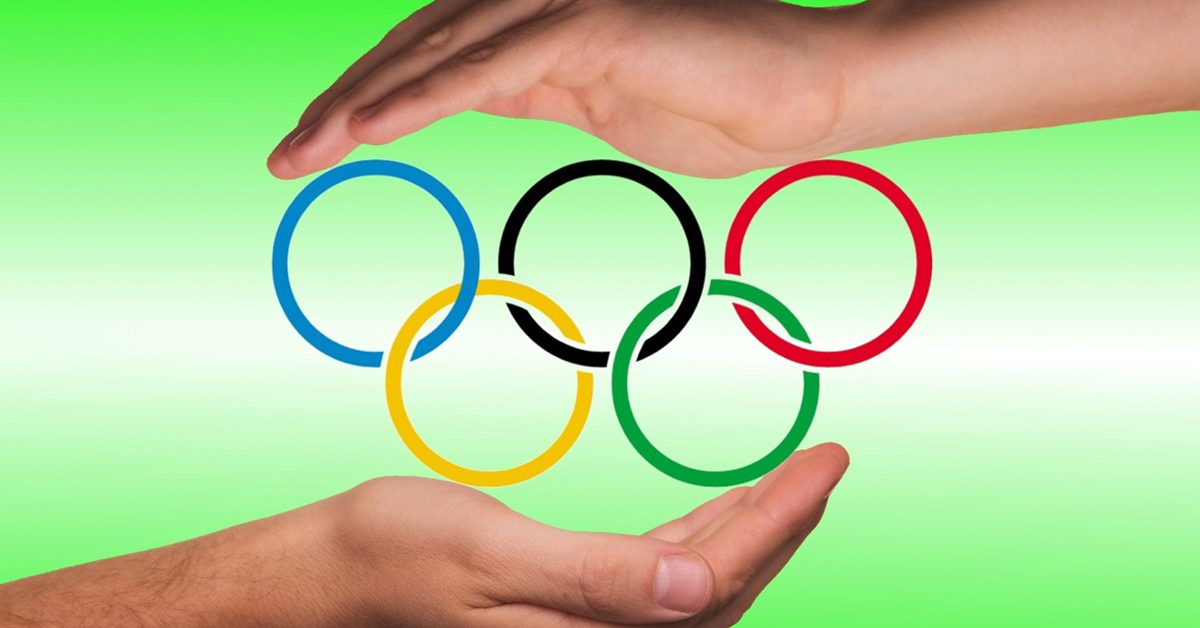 Olympics, rings, hands, games