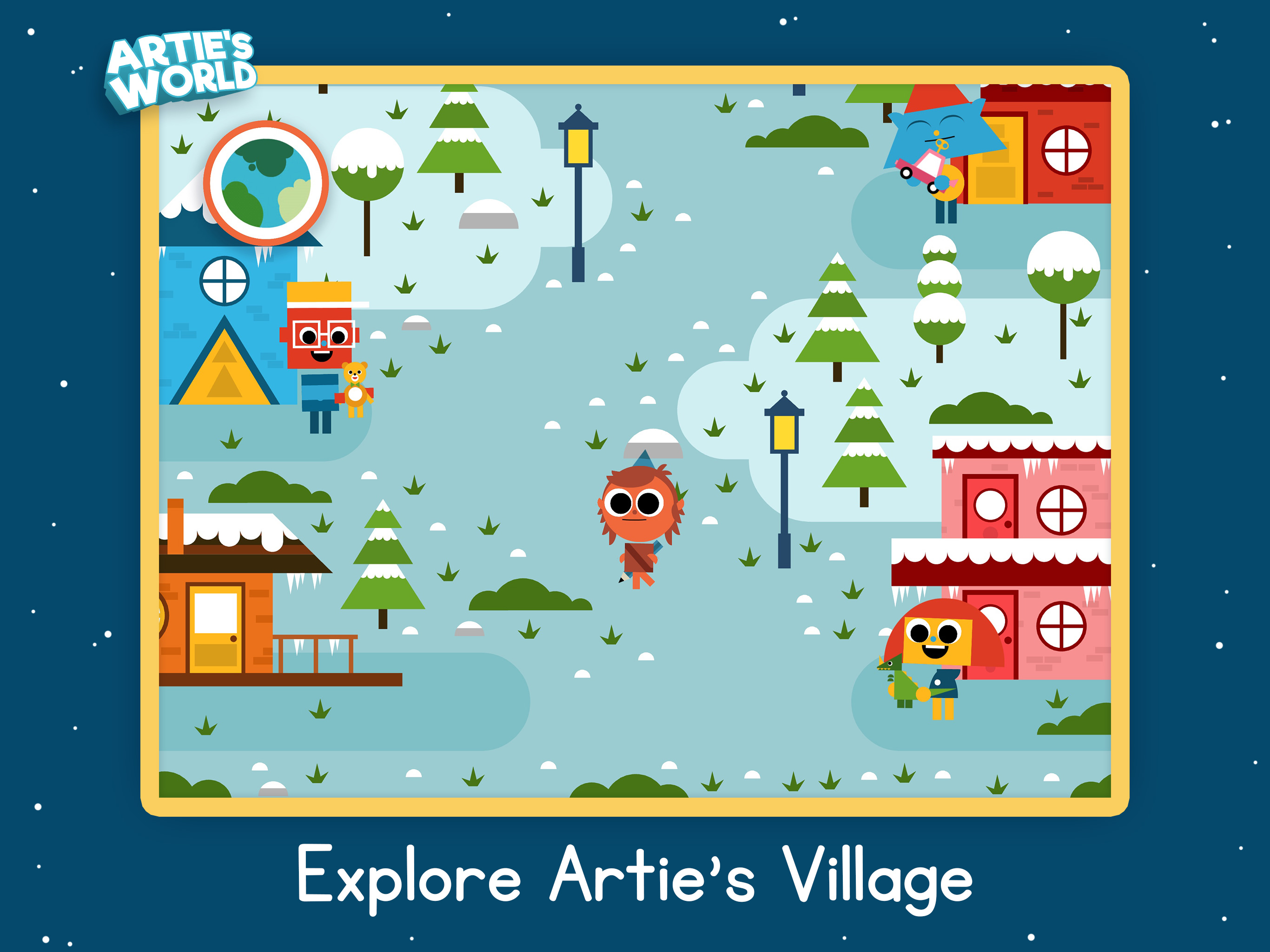 Artie's Village in Artie's World