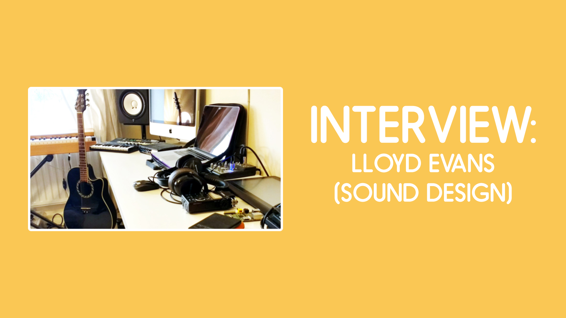 Interview with Lloyd Evans