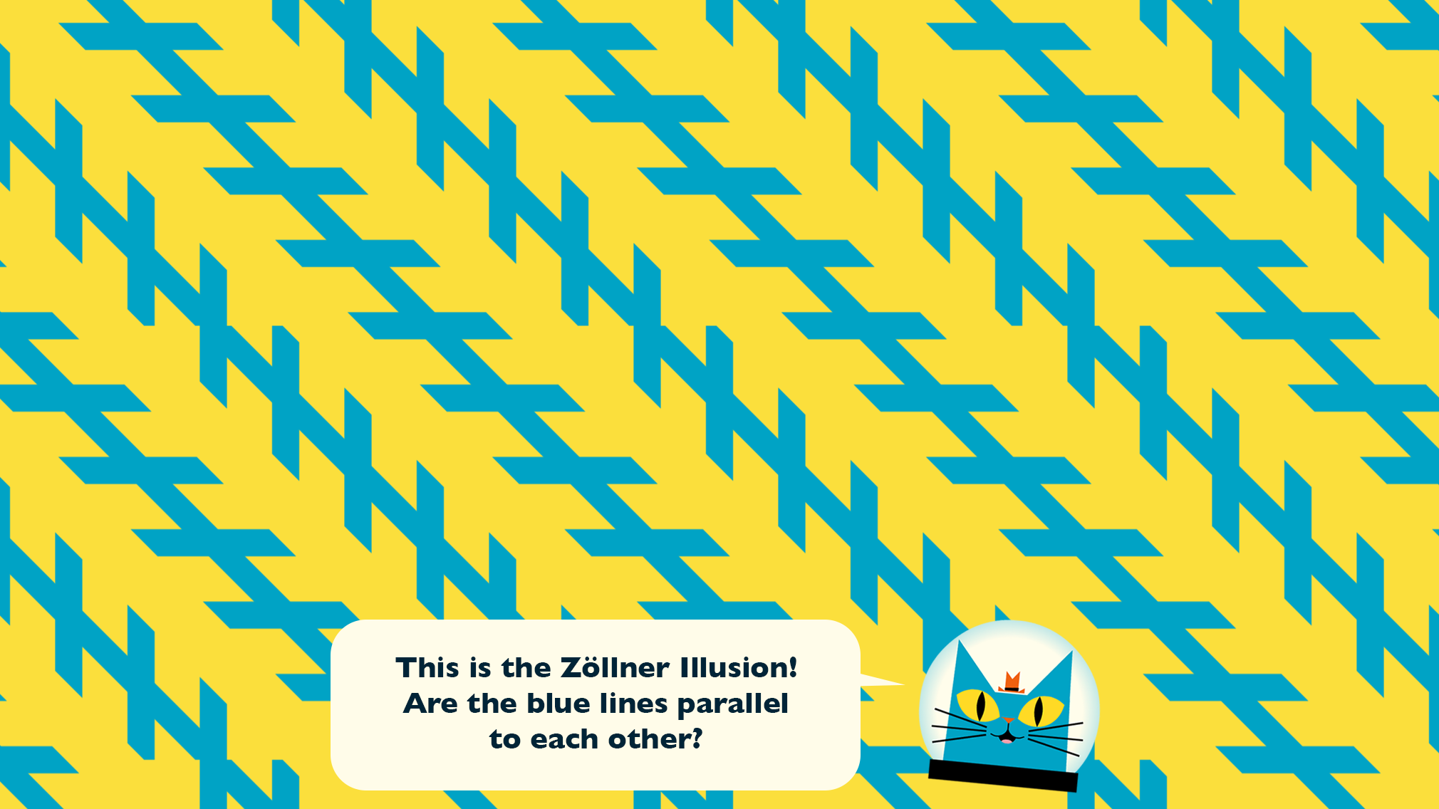 Zollner Optical Illusions