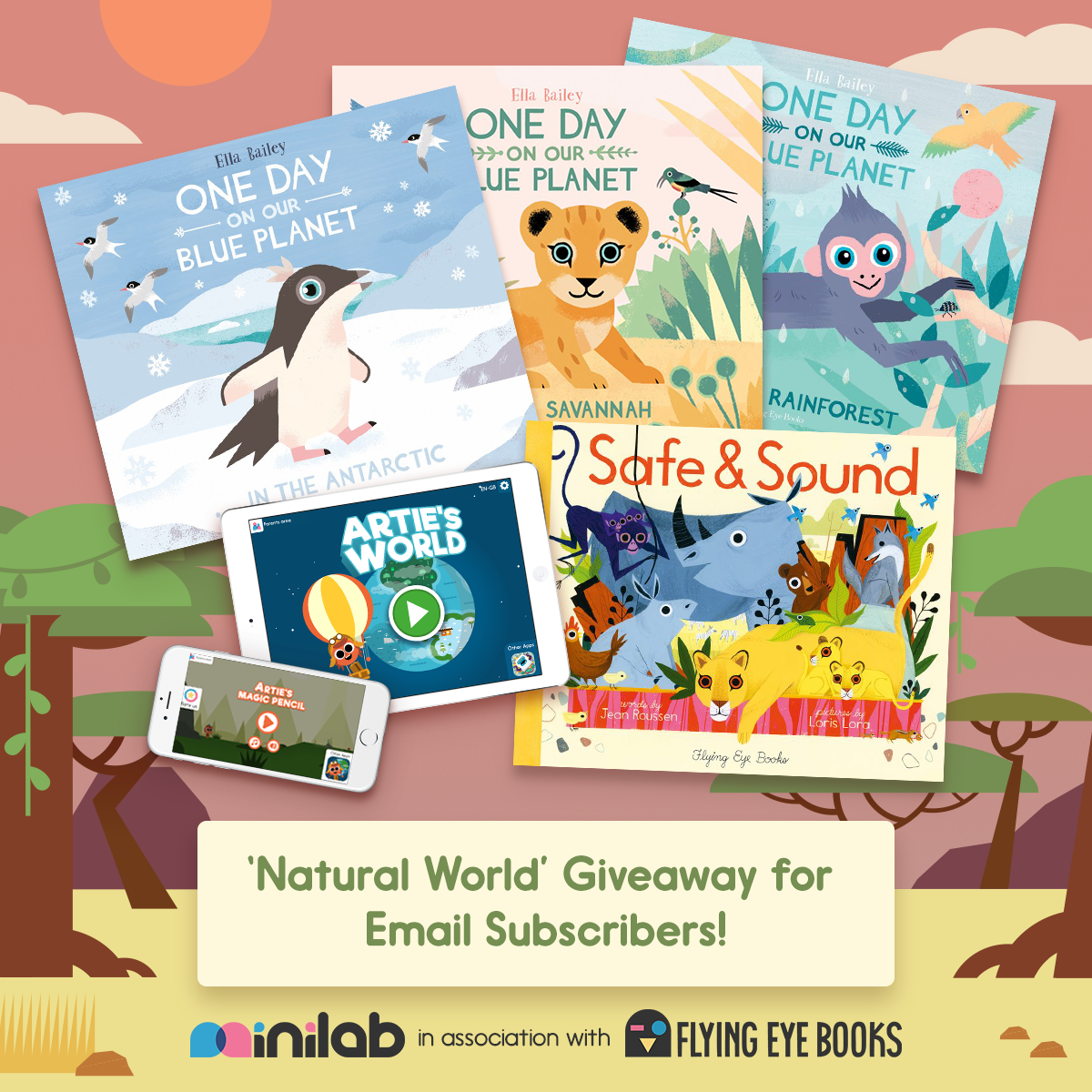 Natural World Artie Giveaway Flying Eye Books Minilab