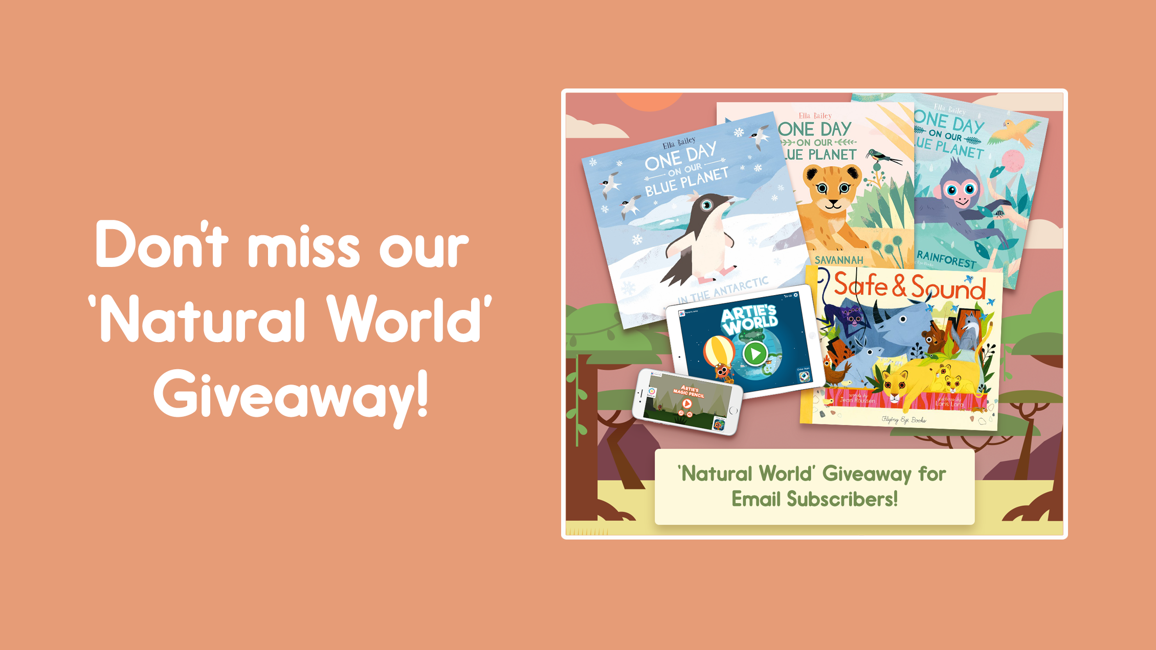 Artie Natural World Giveaway