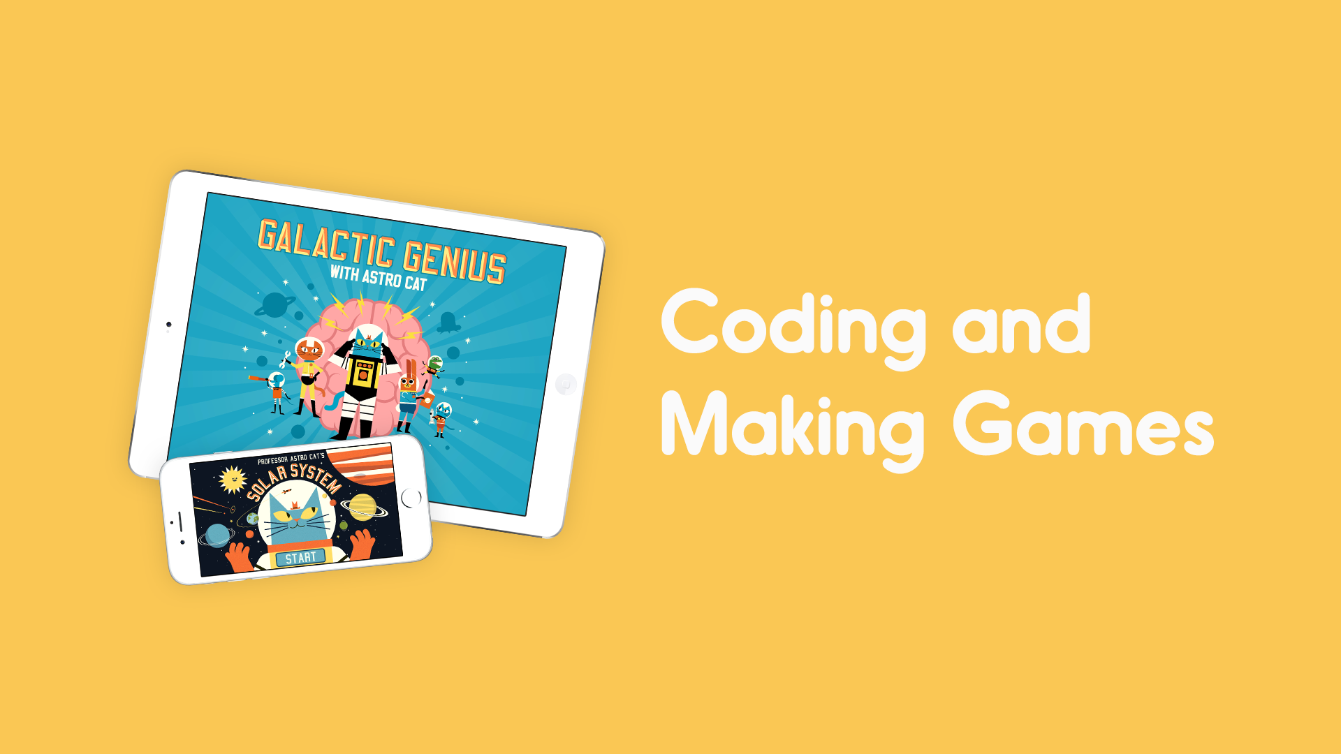Coding and making games