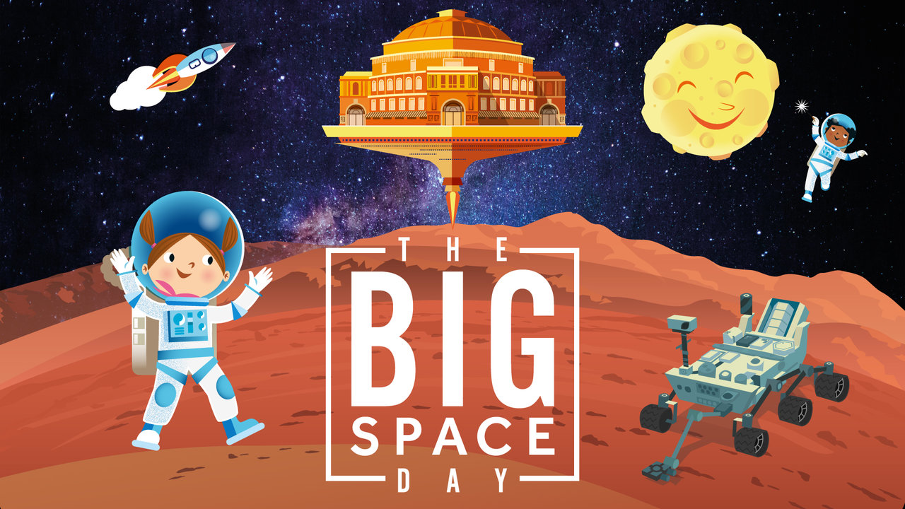 Big Space Day Poster