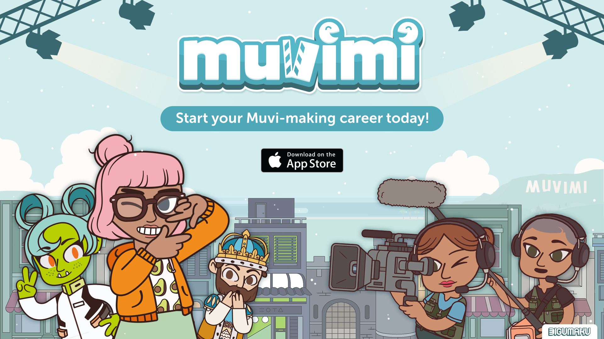Muvimi mobile game launch